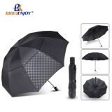27inch 1-2 People Folding Umbrella Double Layer Portable Automatic Umbrella Camping Sunshade