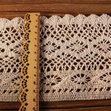Wide Width Cotton Lace for Hometextiles