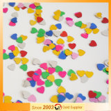 Heart Shape Colorful Paillette for Party Celebration