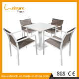 Modern Cheap Hotel Home Cafe Leisure Dining Tables and Chairs Outdoor Garden Patio Aluminum Furniture
