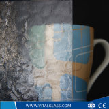 Tempered Clear Araqualite Patterned/Figured Glass with Ce & ISO9001