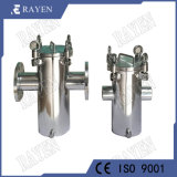 SUS304 Stainless Steel Water Filter Basket Type Strainer