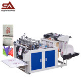Economicial Costermorized Hot Cutting Strong T-Shirt Bags Making Machine