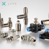 Metal One Touch Pneumatic Fitting with Nickel Plated