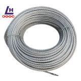 1/2'' 7*19 Electro Galvanized Wire Rope