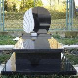 Modern European Style Natural Granite Tombstone for Memorial and Cemetery