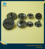 Fashion Metal Spring Snap Fasteners Button for Garment with Enamel