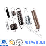 Zinc Plaing Steel Extension Spring with Two Hooks