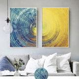 Cusomized HD Canvas Oil Abstract Painting Wall Art Picture with Frame for Home Decoration