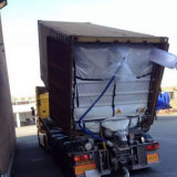 20FT/40FT PP Woven Coated Liner Dry Bulk Container Liner Bags / Sea Bulk Liners
