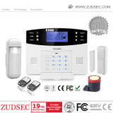 Wireless 100 Zones House Home Security GSM Burglar Alarm with LCD & Voice
