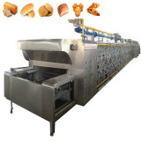 Big Capacity Direct Fire Continuous Tunnel Furnace Convection Conveyor Pizza Bread Bakery Baking Gas Oven with Steam Price