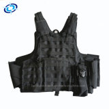 Good Price Military Tactical Bullet Proof Vest with Pouches Map Bag
