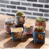 Wholesale Smart Mini Garden Ceramic Flower Plant Pot