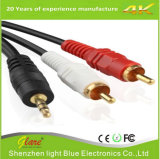 3.5mm to 2RCA Audio PVC Cable