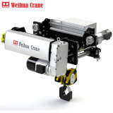Weihua Brand Light Weight European Standard Electric Hoist Trolley with Remote Control Price