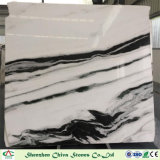 Panda White Marble Slabs for Tiles/Countertop/Vanity Top/Wall Tiles/Interior Decoration