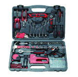 90PC Hand Tool Set with Universal Wrench Socket Set