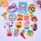 Wholesale Personalized Custom Cute Ocean Animals 3D Soft PVC Fridge Magnet for Different Countries Children