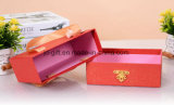 Custom Drawer Paper Gift Box with Ribbon Handle for Candy, Wedding Gift