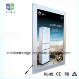 Advertising Aluminium Scrolling Light Box Sign