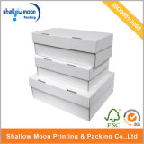 Customized White Shoe Box Packaging Wholesale Corrugated Paper Box