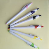 Supply Eco Plastic Ball Pen with 0.7mm Point