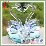 Crystal Glass Swan Gifts for Newlyweds (JD-CG-207)