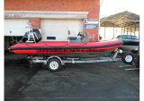China Aqualand 19feet 5.8m Rigid Inflatable Fishing Boat/Speed Boat (rib580t)