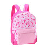 Promotion Basic Style Polyester Oxford School Backpack for Girls