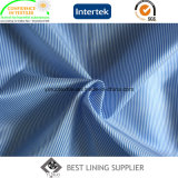 100% Polyester Men′s Suit Stripe Lining Fabric China Manufacturer