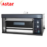 Kitchen Bakery Equipment 1 Deck 2 Trays Commercial Electric Bakery Pizza Oven