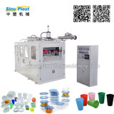 Plastic Jelly Icream Yogurt Drinkg Cup Lid Bowl Tray Plate Thermoforming Making Forming Machine Price Factory Manufacturer