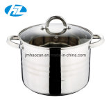 Stainless Steel Stock Pot with Glass Lid