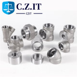 Sw NPT Bsp Male Female Hot DIP Galvanized Screwed Socket Weld Threaded Thread Union Coupling Bushing Nipple Tee Elbow High Pressure Pipe Forged Steel Fitting