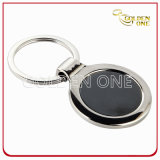 Promotion Gift Cheap Round Shape Blank Metal Keychain