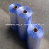 Rigid PVC Shrink Film Transparent Blue Color for Thermoforming