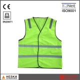 High Visible Traffic Reflective Mens Sleeveless Safety Vest