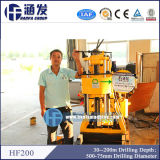 High Efficiency and Popular Water Well Drilling Rig, Model Hf200 Portable Drilling Rig for Sales