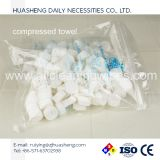 Nonwoven Compressed Coin Towel