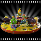 14 Seats Fruit-Party Carousel Indoor Playground Outdoor Amusement Park Rides