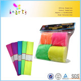 Mix Colors Fluorescent Crepe Paper