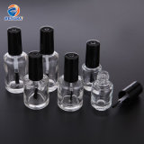 Round Nail Polish Bottle 5ml 10ml 15ml High-Grade Bottle Empty Bottle with Brush