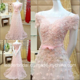 Pink Bridal Formal Gown A-Line Backless Prom Dress H077