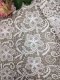 Soft Different Color Polyester Embroidery Lace Fabric