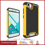 Silicone PC 2 in 1 Hybrid Armor Phone Case Cover for Blu Studio Energy D810L