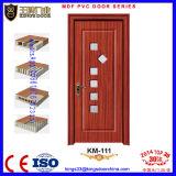 Cheap Internal MDF PVC Glass Door Design for Bedroom