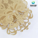 Hollow out Embossing Special Shape Greeting Card Printing