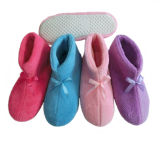 Winter Warm Bowknot Cute Soft Indoor Home Boots with Differet Colors