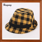 Checked Barrel Hat Hats for Women